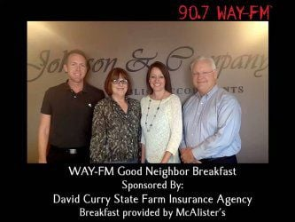 WAY-FM Good Neighbor Breakfast
