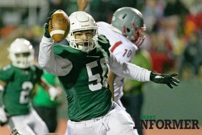 Derby vs. Wichita North football (Tyler Dorsey)