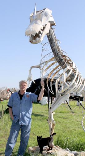 Jurassic Art is one of a kind in Rose Hill