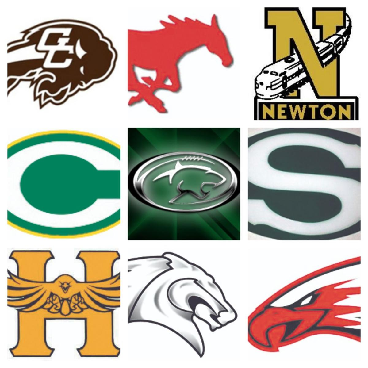 DHS 2018 football opponent logos