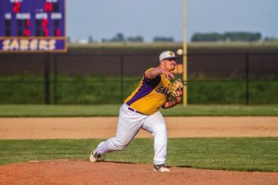 Sabers pitchers keep Indians, Hawks under wraps-Garrett Finley