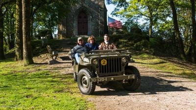 Local daughter of soldier visits Normandy to reflect