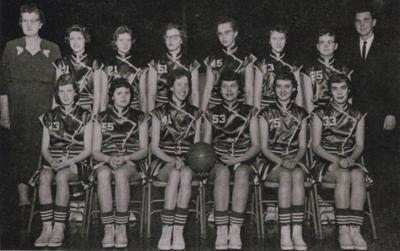 Wheatland Wildcats girls' BB Team