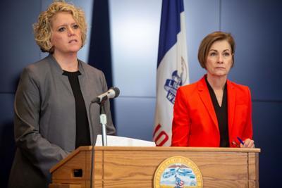 Iowa IDPH Deputy Director Sarah Reisetter