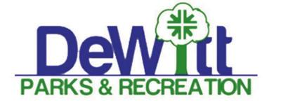 DeWitt Parks & Recreation logo