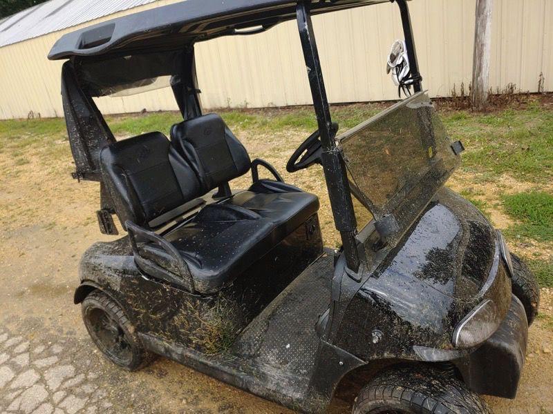 Authorities probe golf cart thefts