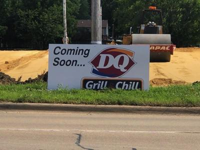 Brace for Blizzards in October-DQ Sign