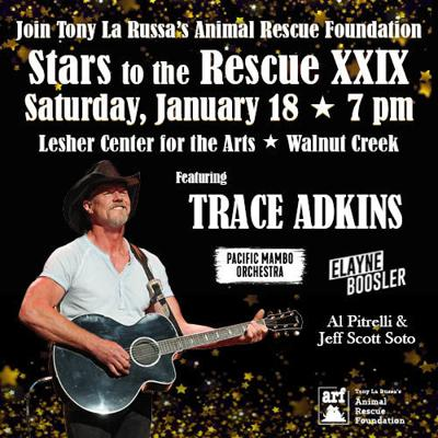 Trace Adkins Joins Tony La Russa for Stars to the Rescue XXIX