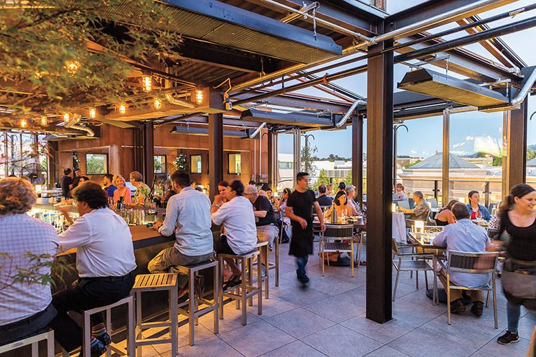 Walnut Creek's Rooftop Restaurant and Bar is Built to Party