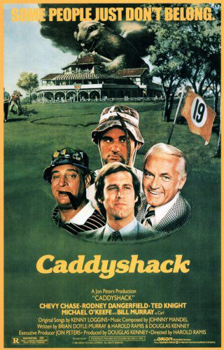 Free Movies: CADDYSHACK and PLEASE DON'T EAT THE DAISIES