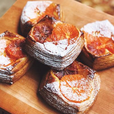 Celebrating Citrus: East Bay Bakery's Danish Pastry