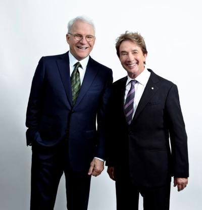 Steve Martin and Martin Short at the Concord Pavilion