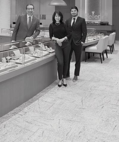 Scott, Catherine, and Brandon Heller—Heller Jewelers