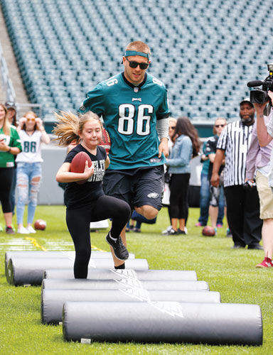 Zach Ertz: All-Pro With a Purpose