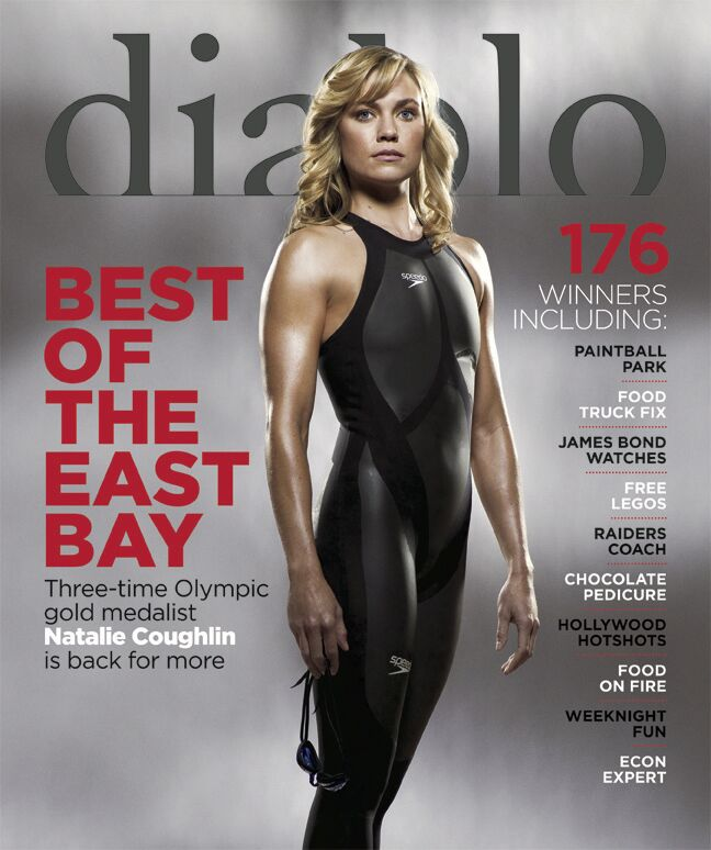 Natalie Coughlin, July 2012 cover
