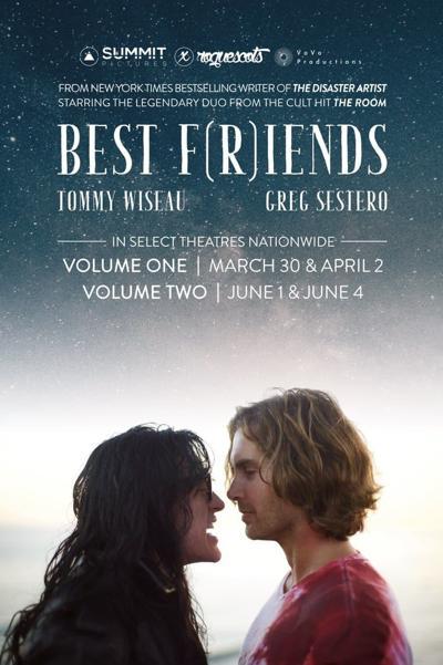 Danville-raised Greg Sestero's BEST FRIENDS shows March 30 and April 2