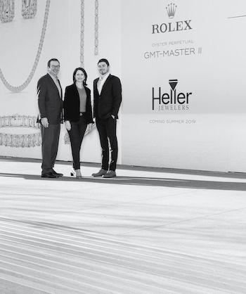 Scott, Catherine, and Brandon Heller - Heller Jewelers