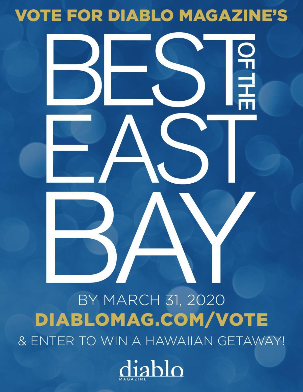 Best of the East Bay - Flyer