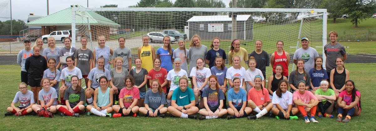 Creek Wood and Dickson County players came together for soccer camp.JPG