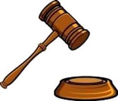 court gavel - ONLINE ONLY