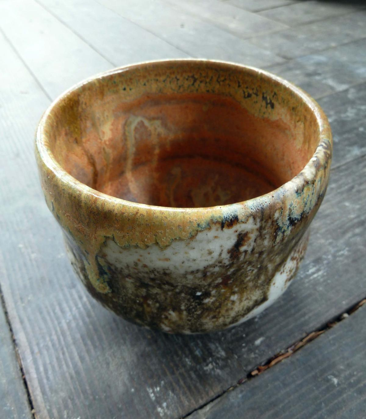 CLOSE TO HOME Art is a tea bowl