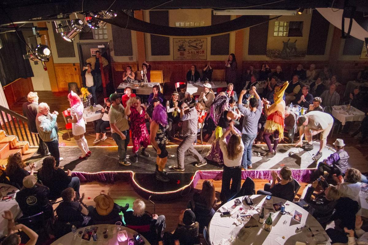 Jane Barnes Revue dance party