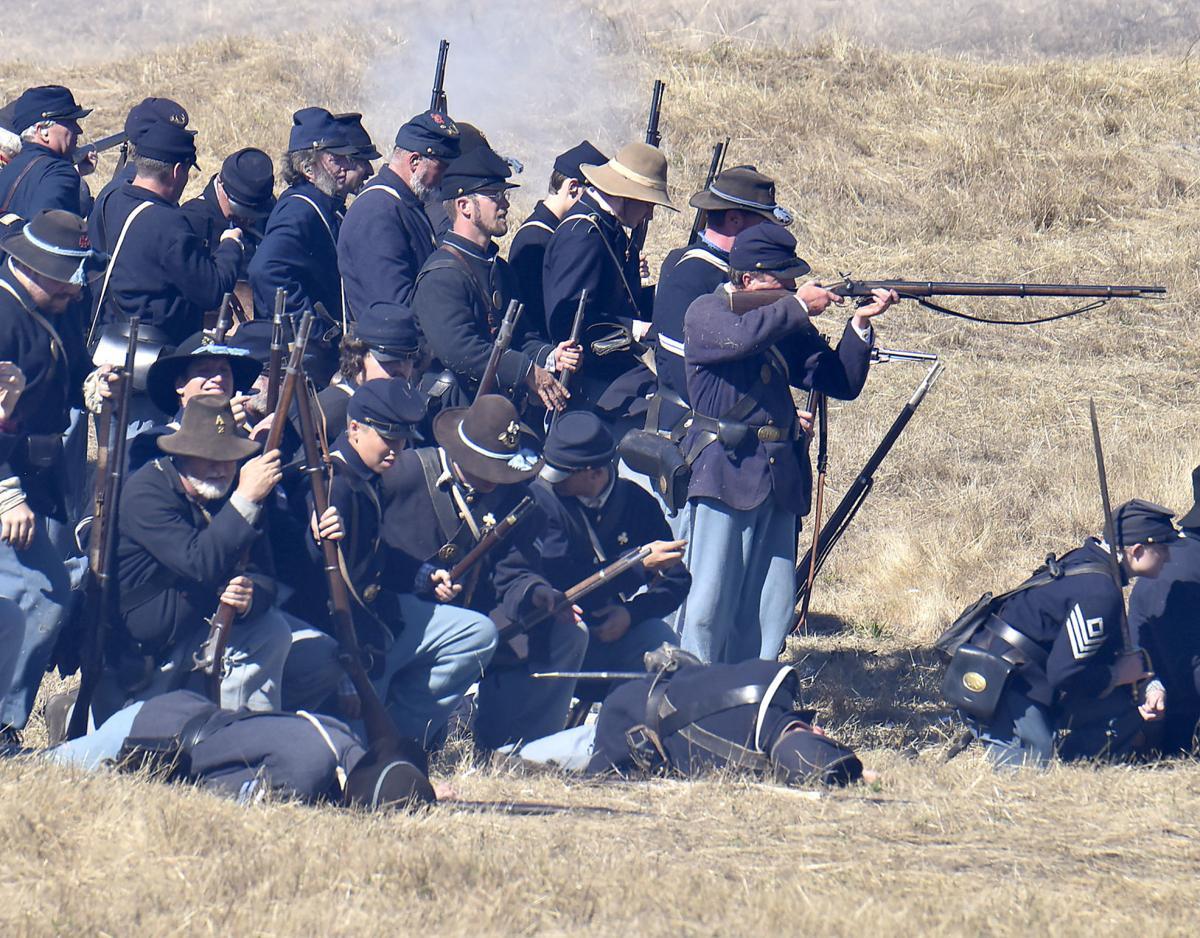 Living history Northwest's largest Civil War Reenactment