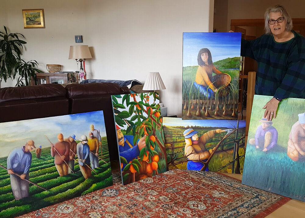 Jane Adams art