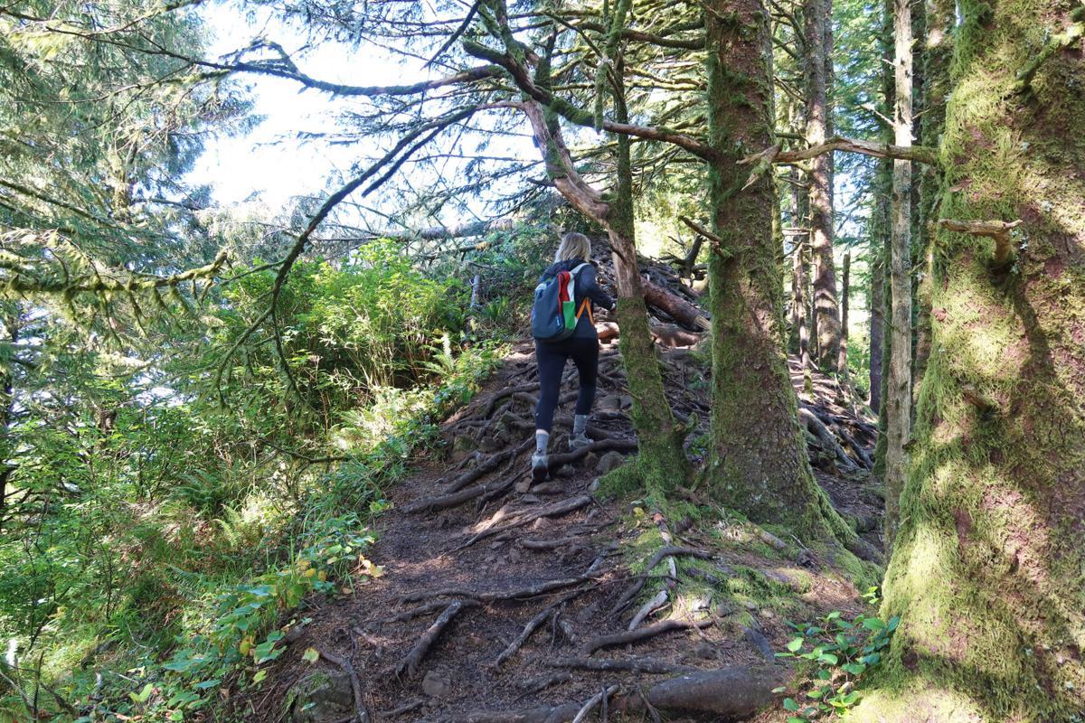 Hiking Neah-Kah-Nie Mountain