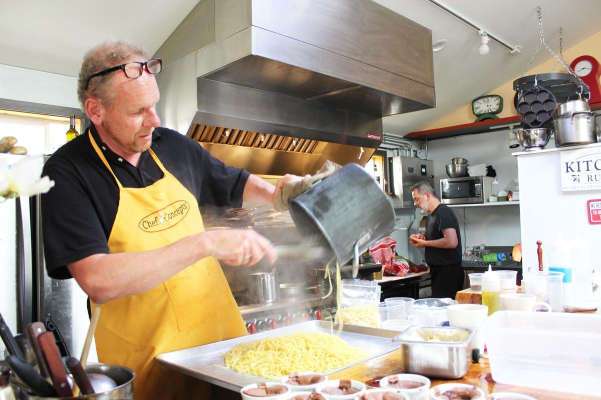Chef owner Paul Klitsie