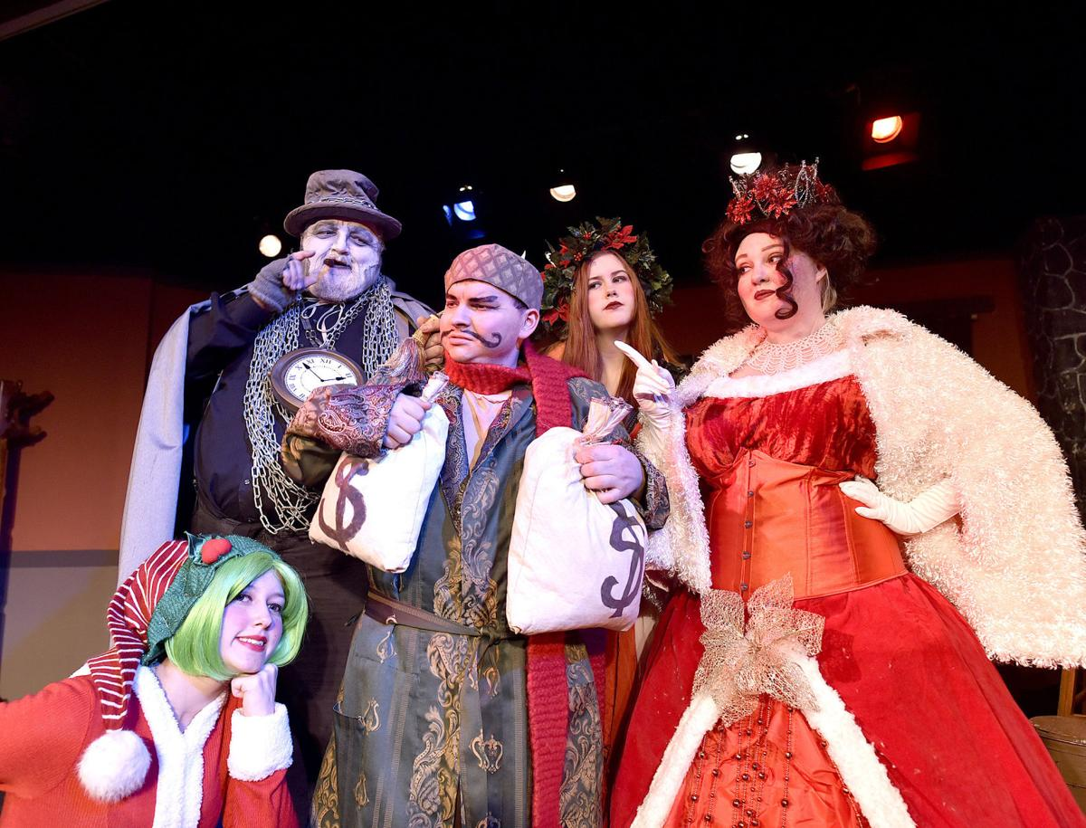 No humbug here 'Tis the season for laughter with 'Scrooged in Astoria'
