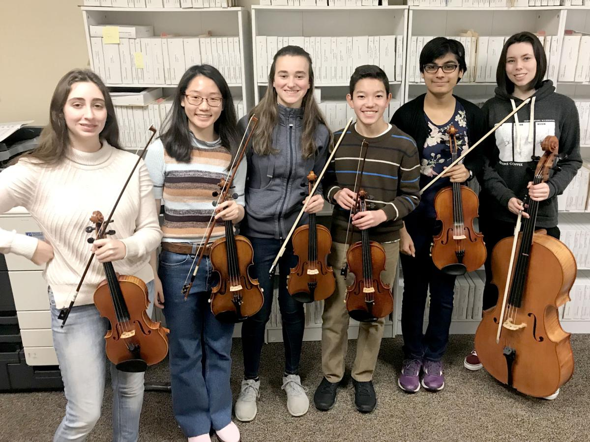 The West Linn High School Chamber Orchestra