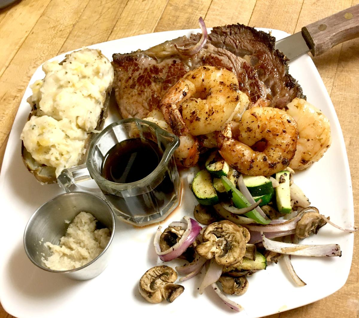 Lord Brixxton's surf and turf
