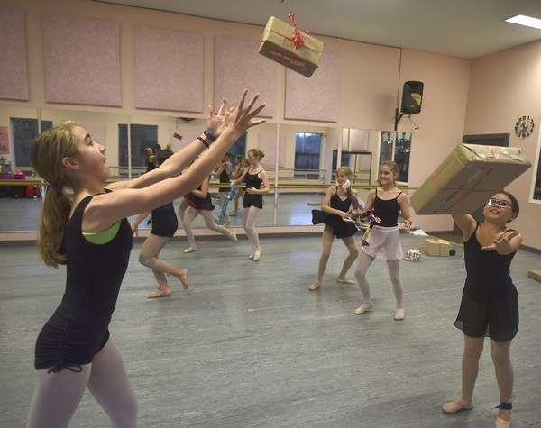 Students at Encore Dance Studio
