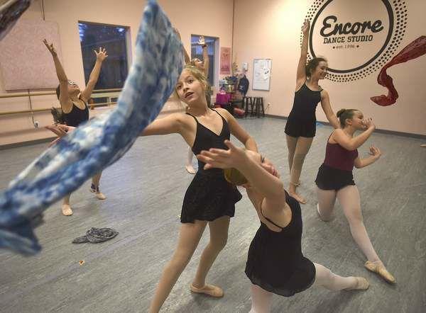 Students at the Encore Dance Studio