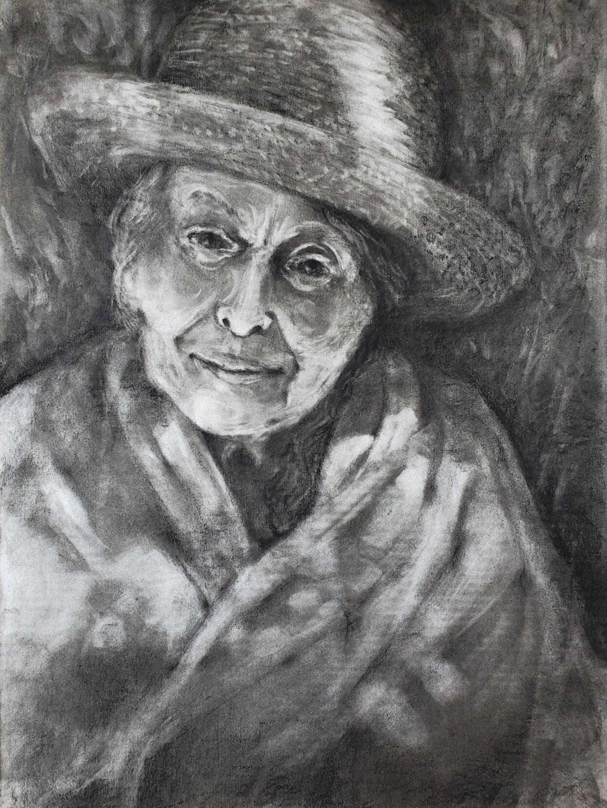 'Portrait of Pamela Jean at 91'