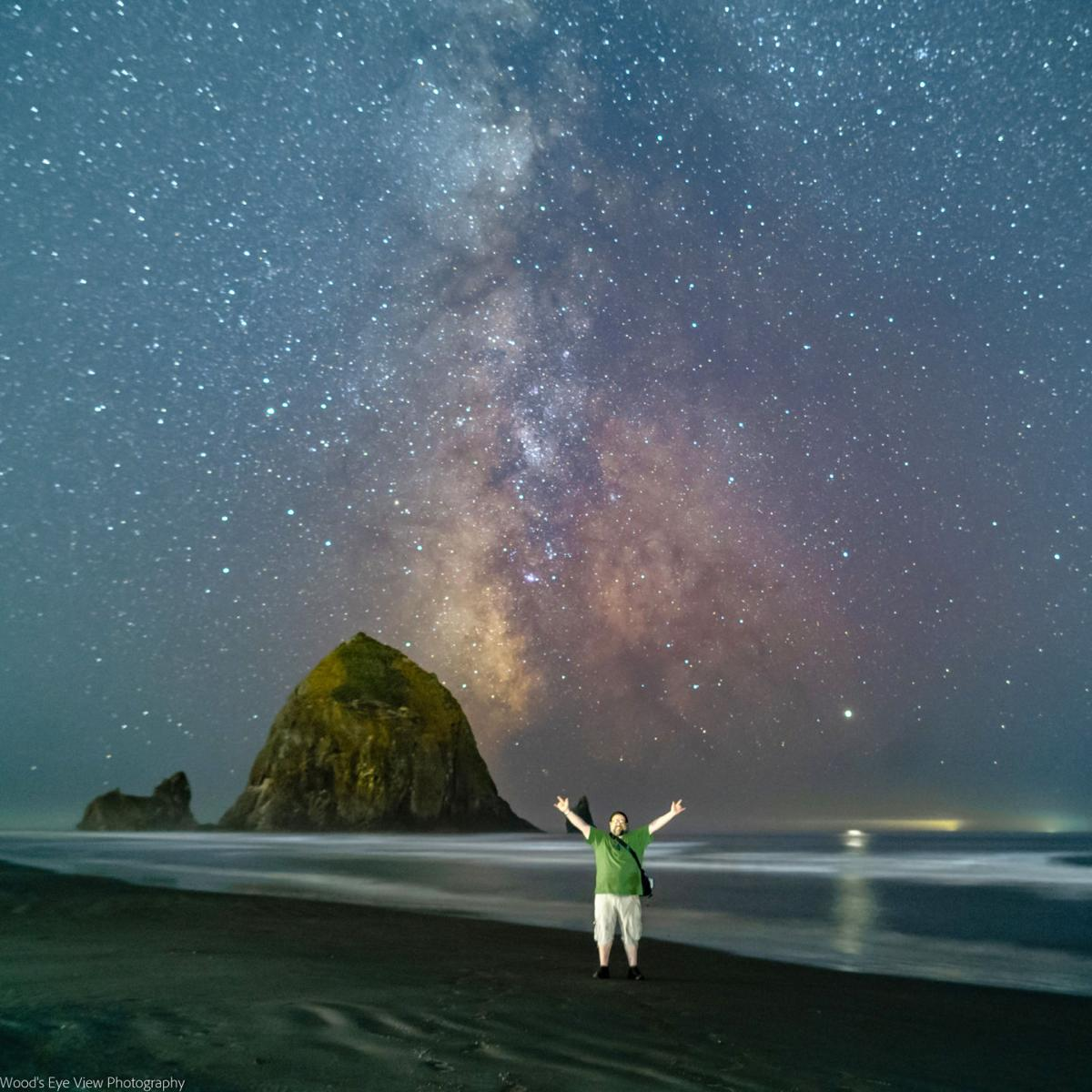 Cannon Beach astrophotography