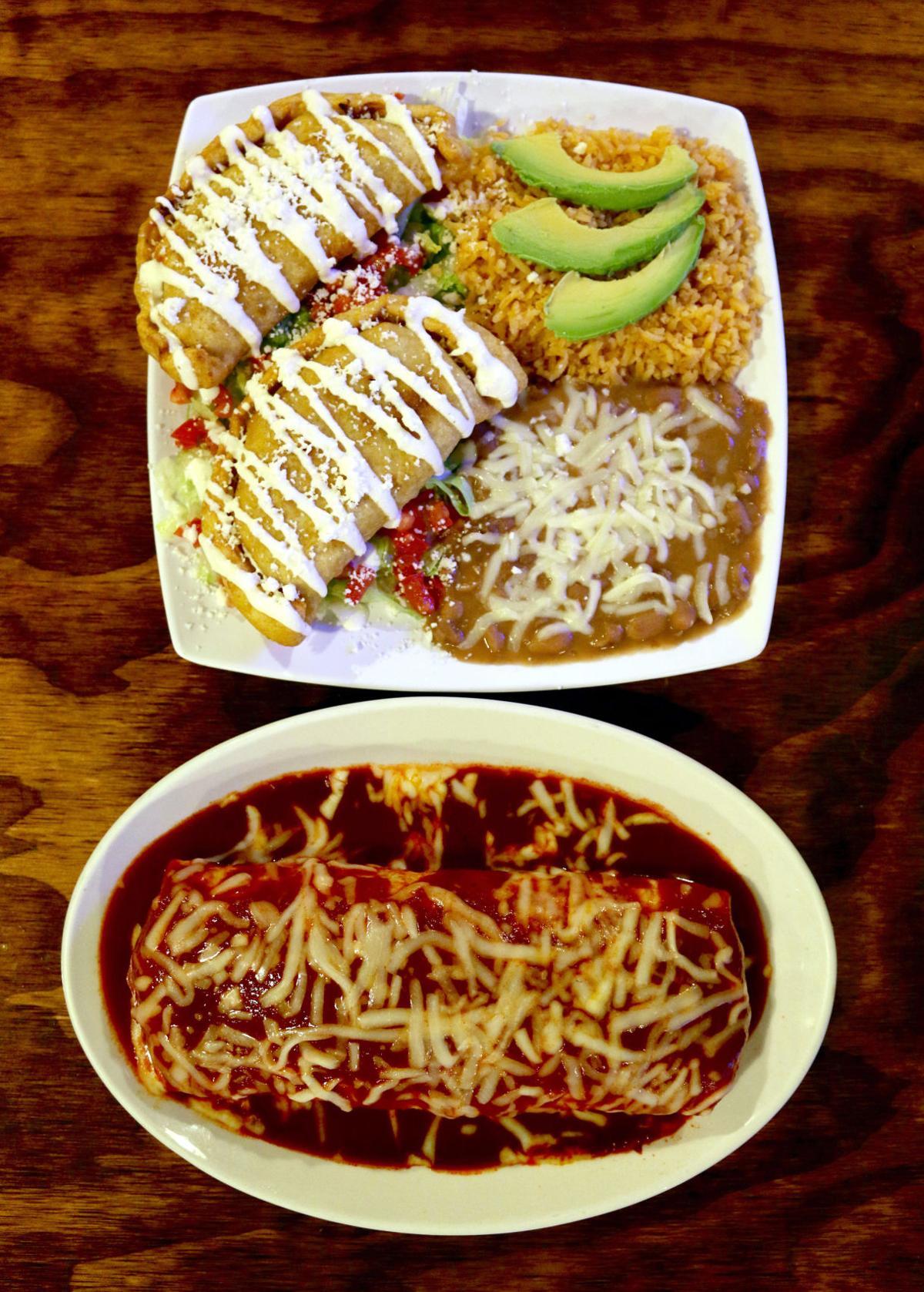 La Cabaña de Raya food