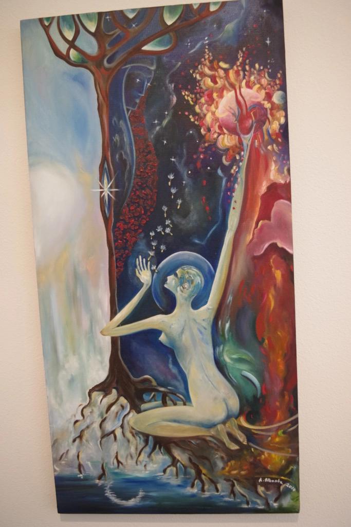 Original oil by Anja Albosta