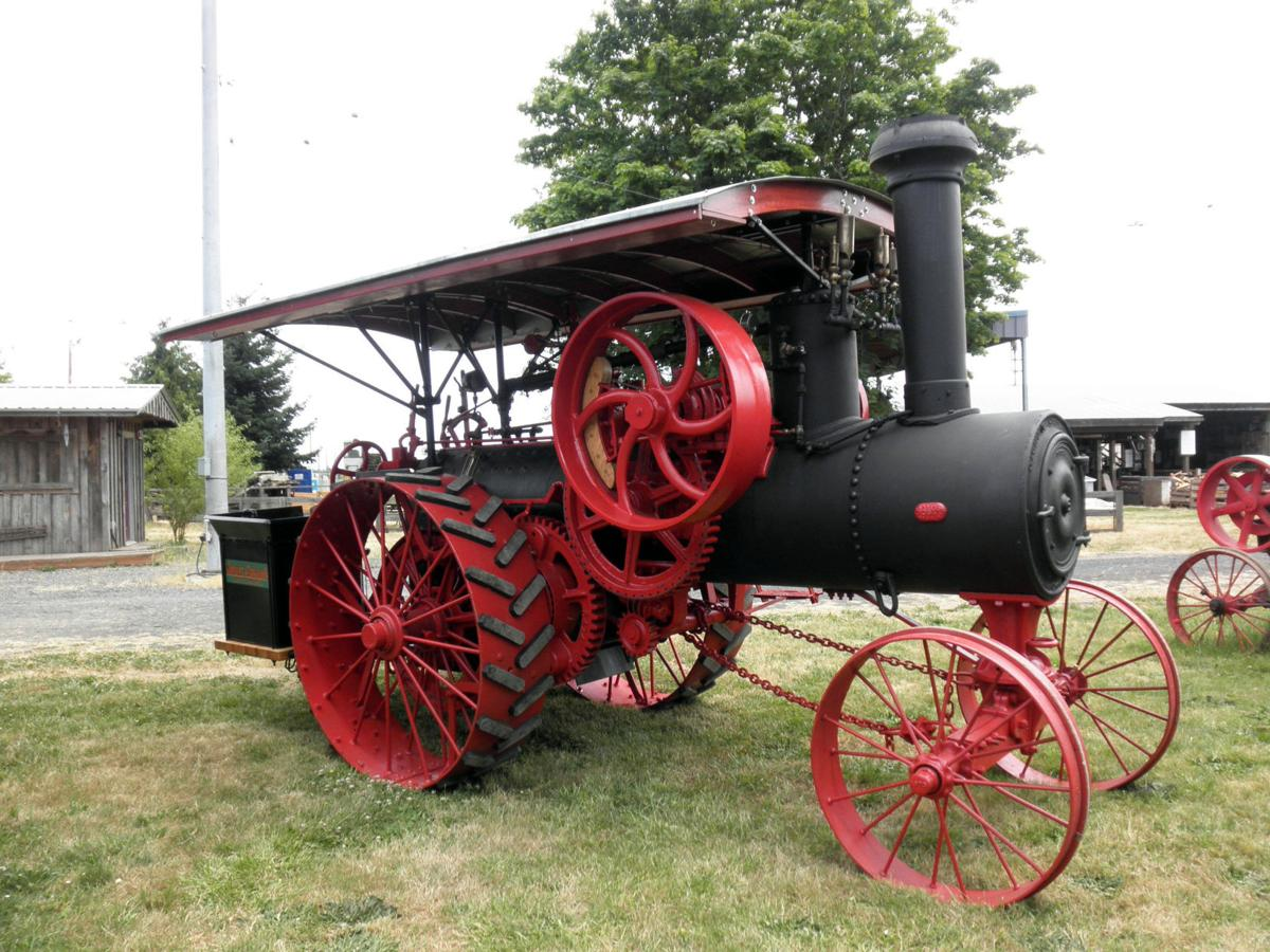 Antique tractors, vintage vehicles at 'Old Iron Show'