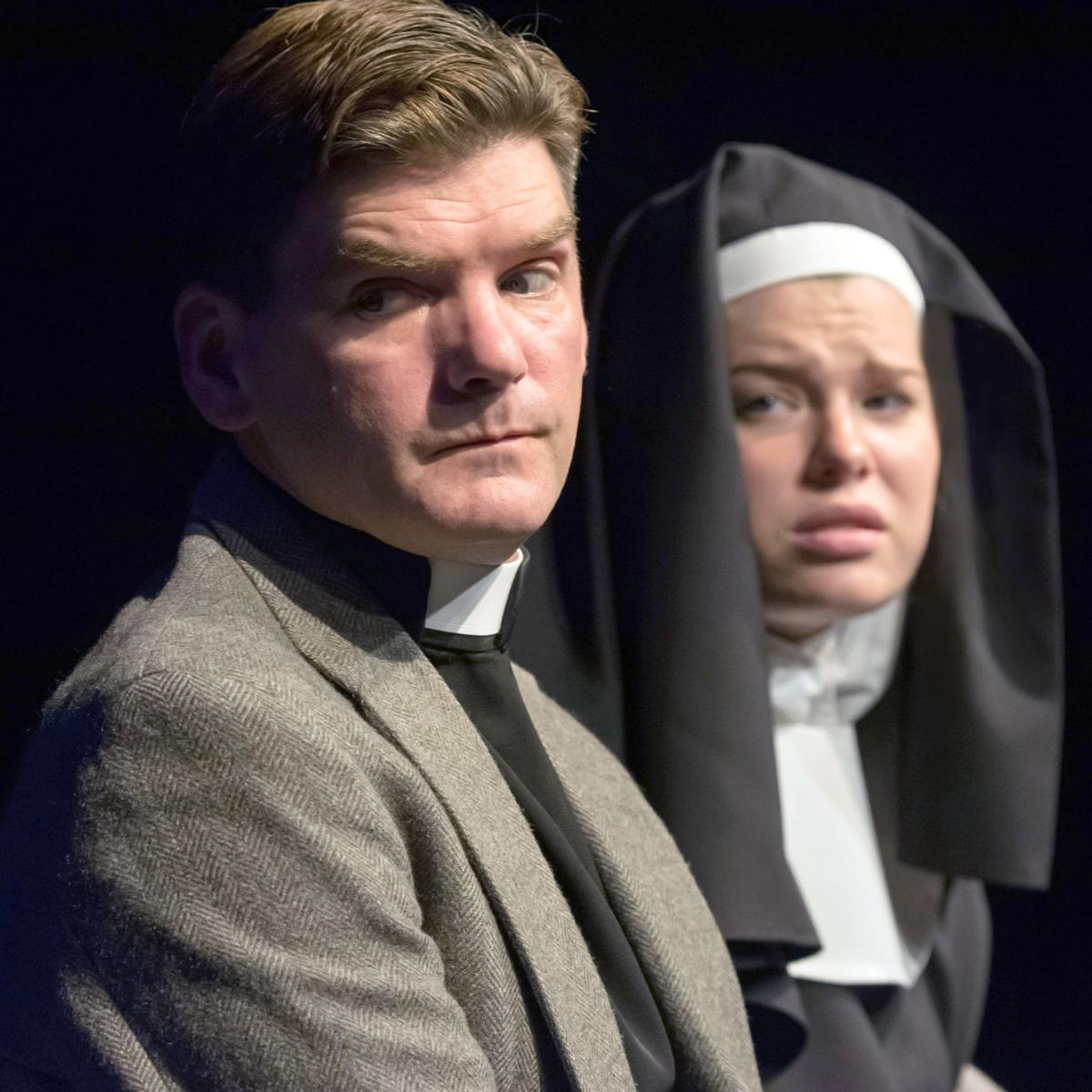 191101_oct_Nathan Bush in the role of Father Flynn - Autumn Green in the role of Sister James.jpg