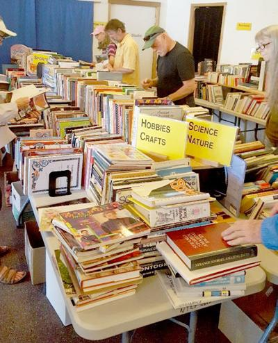 Word is the Manzanita Library's book sale is coming up
