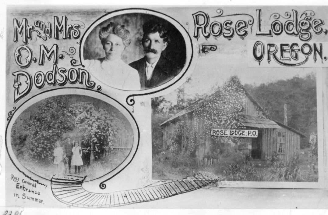 190125_oct_news_#150 — Rose Lodge Mr. & Mrs. Dodson 1913 and Rose LODGE p.o. sEE PICTURE FOR MORE INFORMATION.jpg