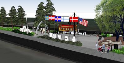 Scandinavian park design