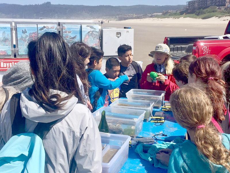 Haystack Rock Awareness Program is back on the beach