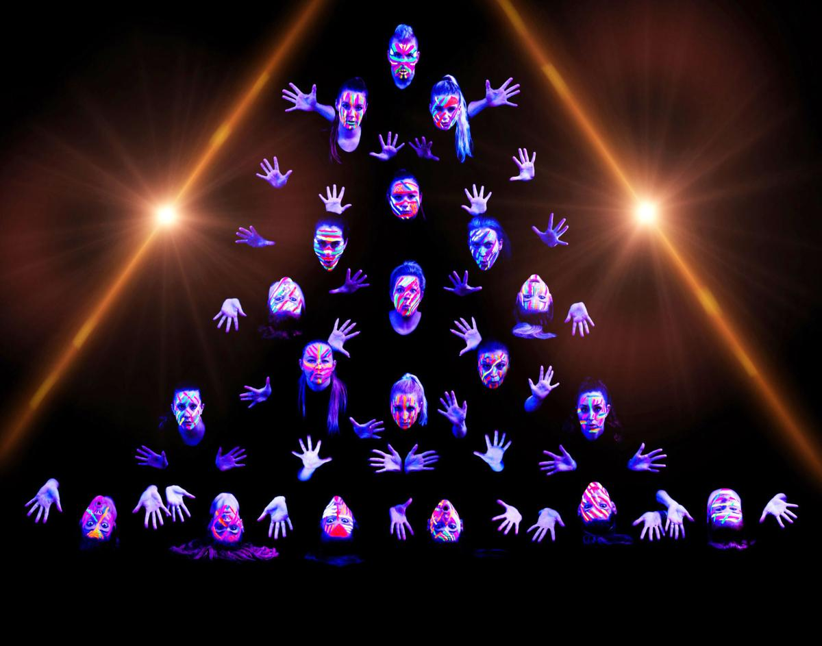 'Enigmatic! A Dance Extravaganza' poster image