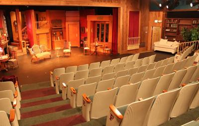Coaster Theatre seats