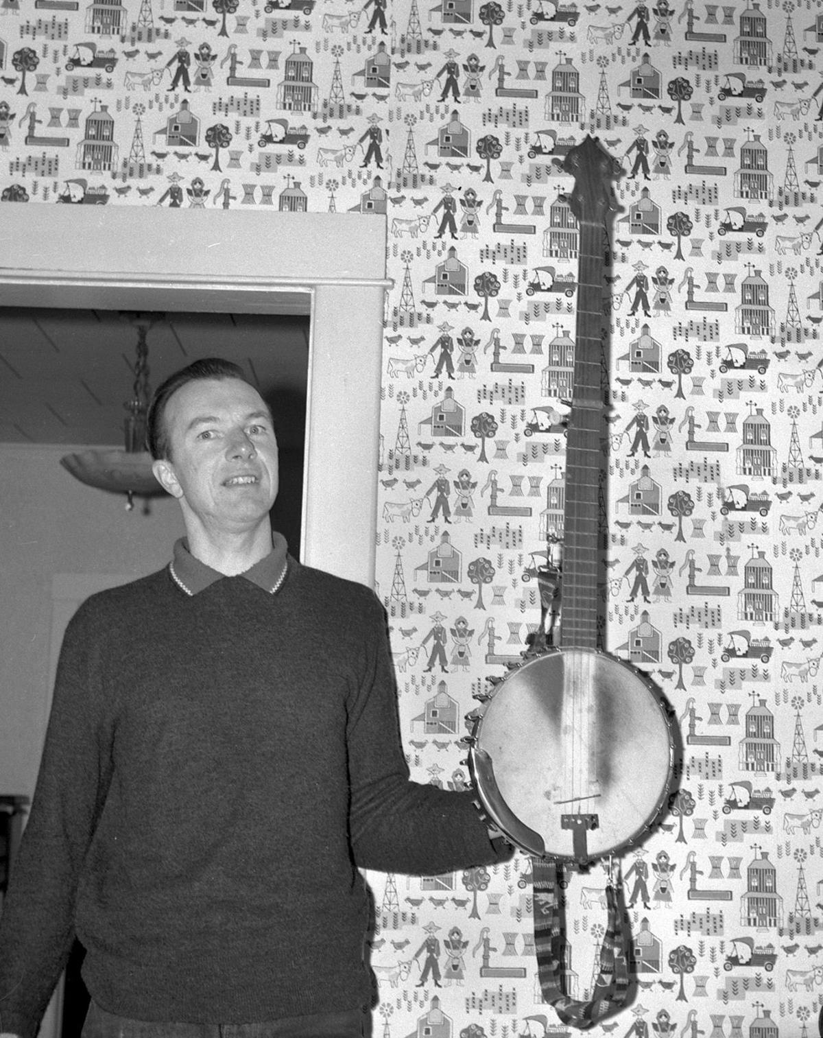 Pete Seeger: Young Keith Clark didn't know he was a famous musician