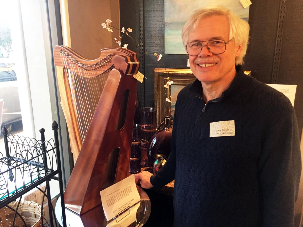 Duane Bolster, harp builder
