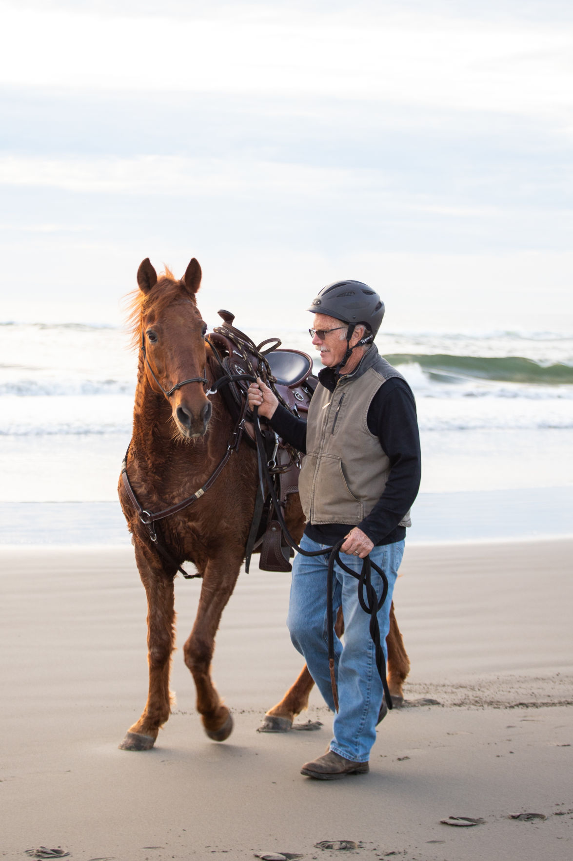 Rider at Fort Stevens
